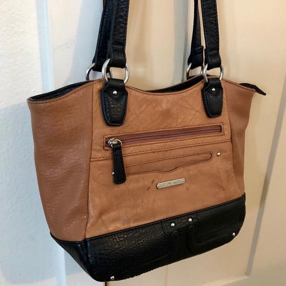 Stone & Co. Handbags - Stone & Co. Leather Colorblock Purse